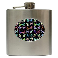 Toys pattern Hip Flask (6 oz)