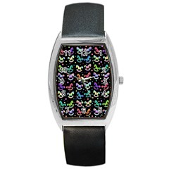 Toys pattern Barrel Style Metal Watch