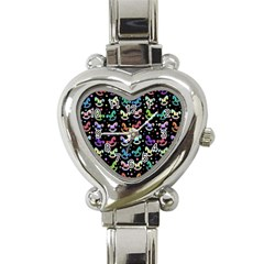 Toys pattern Heart Italian Charm Watch