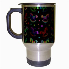 Toys pattern Travel Mug (Silver Gray)