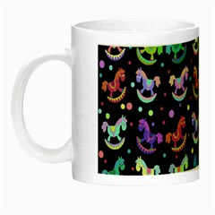 Toys pattern Night Luminous Mugs