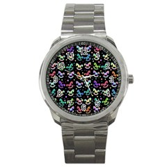 Toys pattern Sport Metal Watch