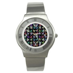 Toys pattern Stainless Steel Watch