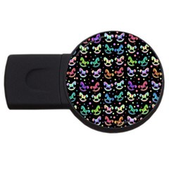 Toys pattern USB Flash Drive Round (4 GB)