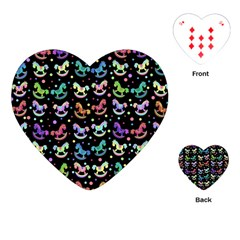 Toys pattern Playing Cards (Heart)