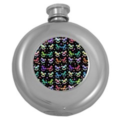 Toys pattern Round Hip Flask (5 oz)