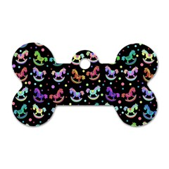 Toys pattern Dog Tag Bone (One Side)