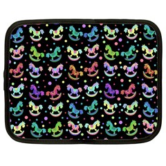 Toys pattern Netbook Case (Large)