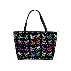 Toys pattern Shoulder Handbags