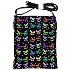 Toys pattern Shoulder Sling Bags