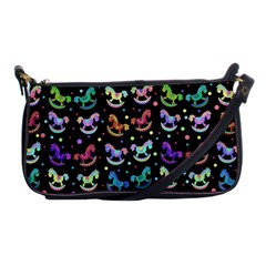 Toys pattern Shoulder Clutch Bags