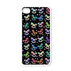 Toys pattern Apple iPhone 4 Case (White)