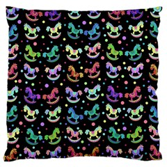 Toys pattern Large Cushion Case (Two Sides)