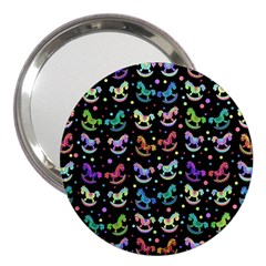 Toys pattern 3  Handbag Mirrors
