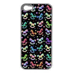 Toys pattern Apple iPhone 5 Case (Silver)