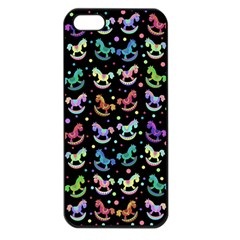 Toys pattern Apple iPhone 5 Seamless Case (Black)