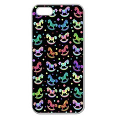 Toys pattern Apple Seamless iPhone 5 Case (Clear)