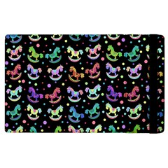 Toys pattern Apple iPad 2 Flip Case