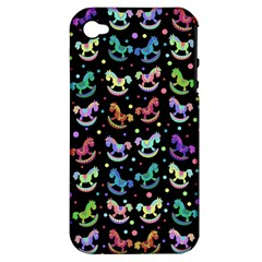 Toys pattern Apple iPhone 4/4S Hardshell Case (PC+Silicone)