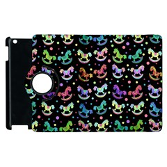 Toys pattern Apple iPad 2 Flip 360 Case