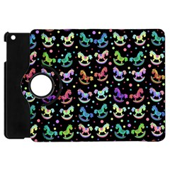 Toys pattern Apple iPad Mini Flip 360 Case