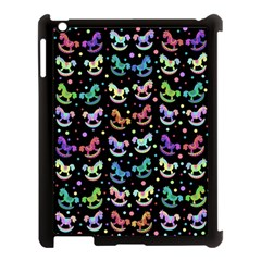 Toys pattern Apple iPad 3/4 Case (Black)