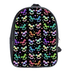 Toys pattern School Bags (XL)