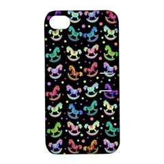 Toys pattern Apple iPhone 4/4S Hardshell Case with Stand