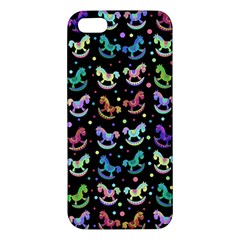 Toys pattern Apple iPhone 5 Premium Hardshell Case