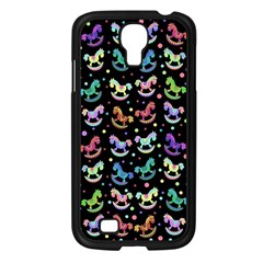 Toys pattern Samsung Galaxy S4 I9500/ I9505 Case (Black)