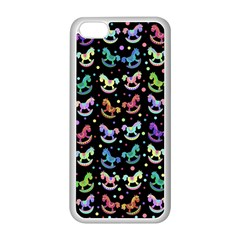 Toys pattern Apple iPhone 5C Seamless Case (White)