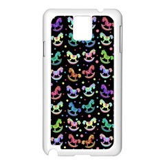 Toys pattern Samsung Galaxy Note 3 N9005 Case (White)