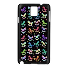 Toys pattern Samsung Galaxy Note 3 N9005 Case (Black)