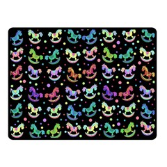 Toys pattern Double Sided Fleece Blanket (Small)