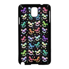 Toys pattern Samsung Galaxy Note 3 Neo Hardshell Case (Black)