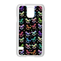 Toys pattern Samsung Galaxy S5 Case (White)