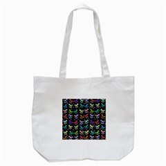 Toys pattern Tote Bag (White)