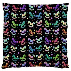 Toys pattern Large Flano Cushion Case (One Side)