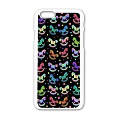 Toys pattern Apple iPhone 6/6S White Enamel Case