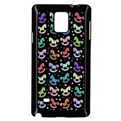 Toys pattern Samsung Galaxy Note 4 Case (Black)