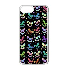 Toys pattern Apple iPhone 7 Plus White Seamless Case