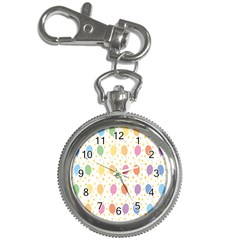 Balloon Star Rainbow Key Chain Watches by Mariart