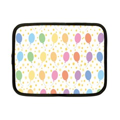 Balloon Star Rainbow Netbook Case (small)  by Mariart
