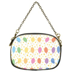 Balloon Star Rainbow Chain Purses (one Side)  by Mariart