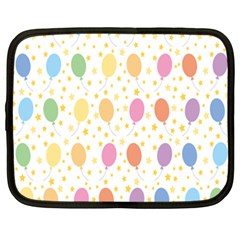 Balloon Star Rainbow Netbook Case (xxl)  by Mariart