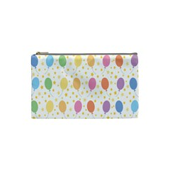 Balloon Star Rainbow Cosmetic Bag (small)