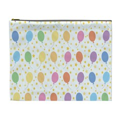 Balloon Star Rainbow Cosmetic Bag (xl) by Mariart