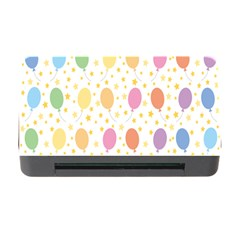 Balloon Star Rainbow Memory Card Reader With Cf by Mariart
