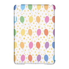 Balloon Star Rainbow Apple Ipad Mini Hardshell Case (compatible With Smart Cover) by Mariart