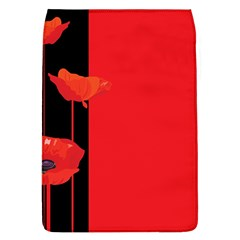 Flower Floral Red Back Sakura Flap Covers (l)